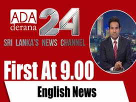 Derana English News 9.00 PM 24-01-2020