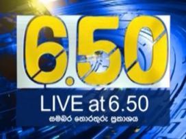 Live at 6.50 - 29-09-2020