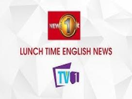 TV 1 Lunch Time News 13-12-2019