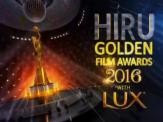 Hiru Golden Film Awards 2016 - 24-09-2016